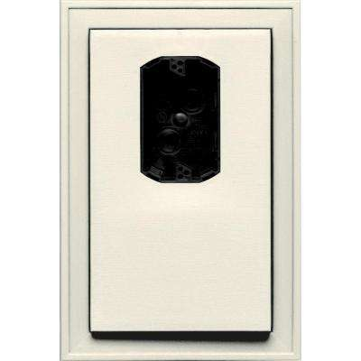 8.125 in. x 12 in. #034 Parchment Jumbo Electrical Mounting Block Offset
