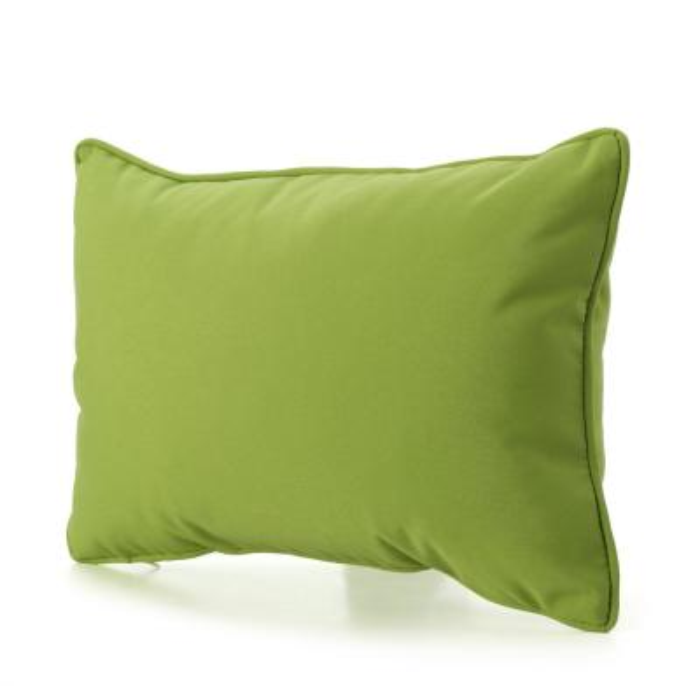 18 5x11 5 Outdoor Lumbar Pillows Outdoor Pillows The Home Depot