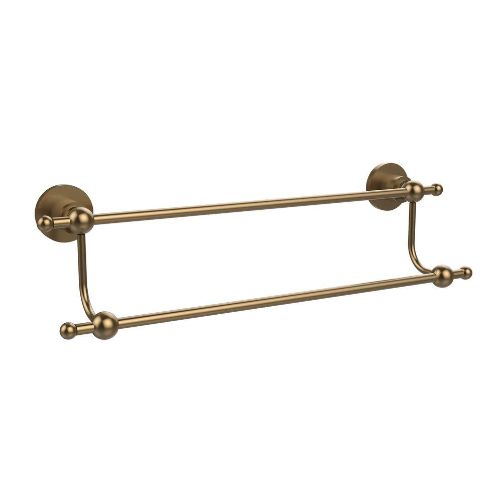 Astor Place Collection 18 in. Double Towel Bar in Brushed Bronze