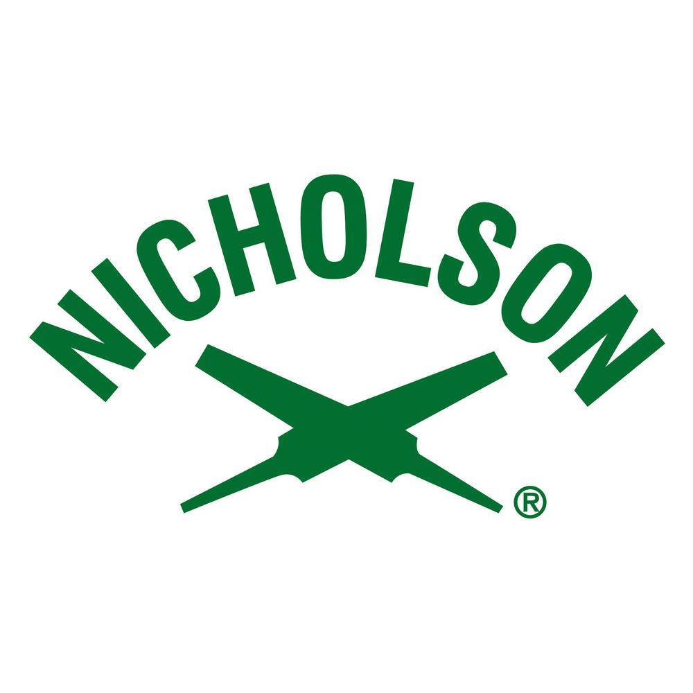 Nicholson 12 in  Mill Bastard Cut File-08737N - The Home Depot