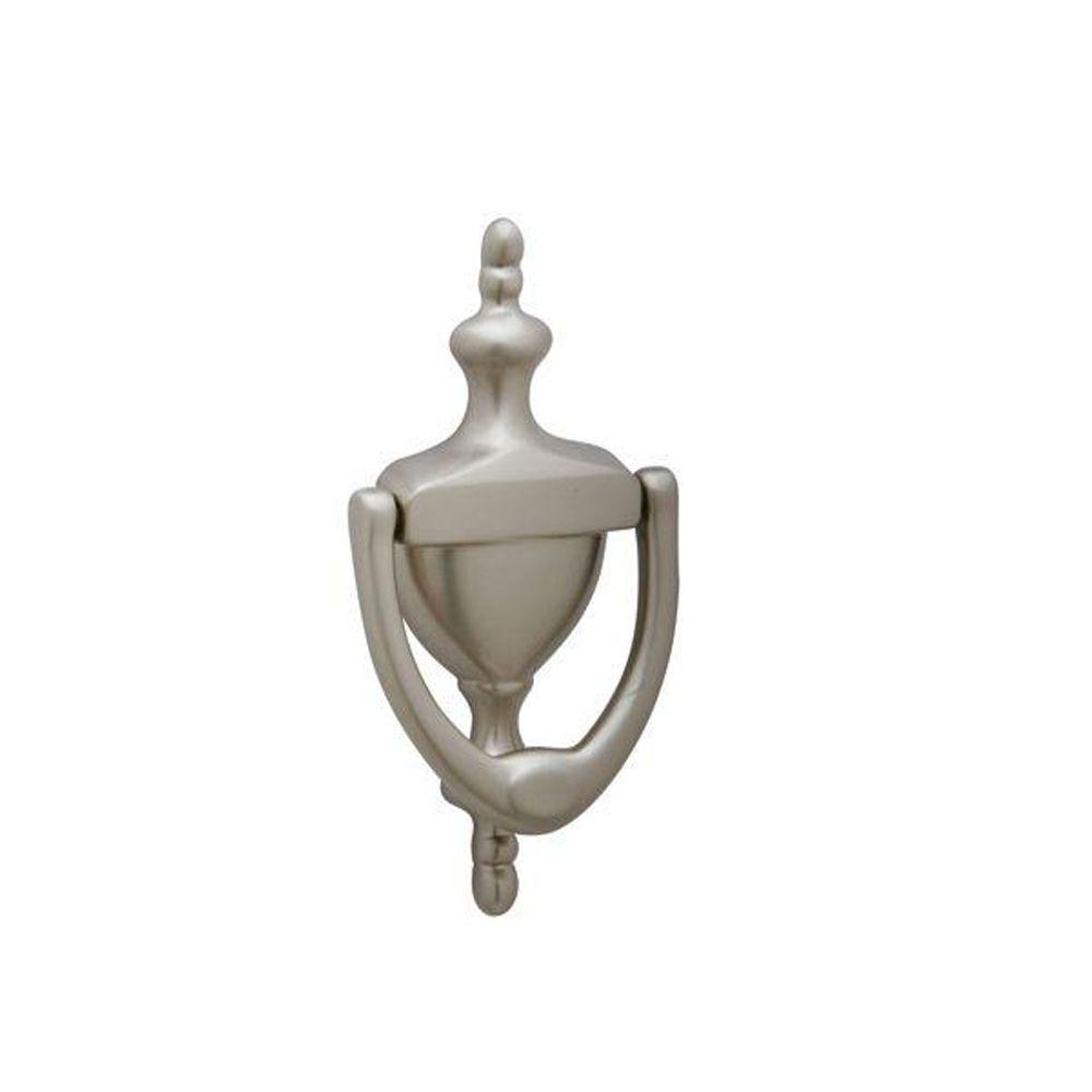 Charmant Schlage Satin Nickel Small Door Knocker