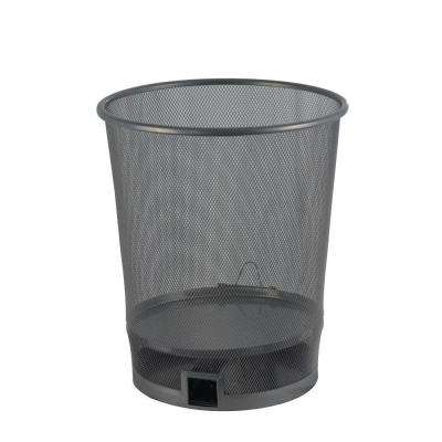 Trash Can with Multi-Catch Mouse Trap
