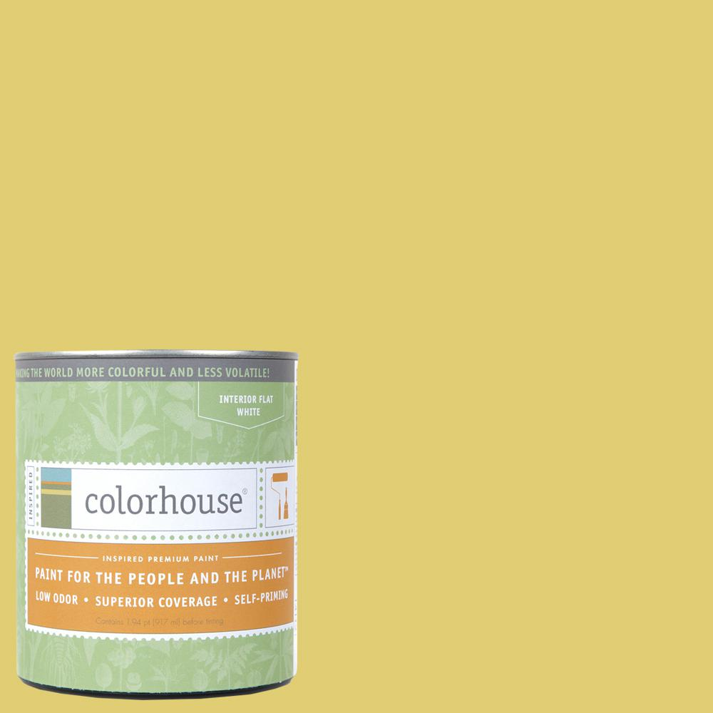 Colorhouse 1 qt. Beeswax .04 Flat Interior Paint