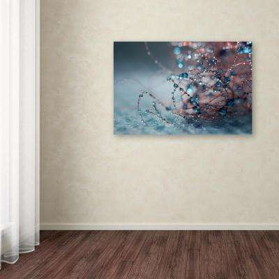 "22 in. x 32 in. ""Blue Silence"" by Beata Czyzowska Young Printed Canvas Wall Art"