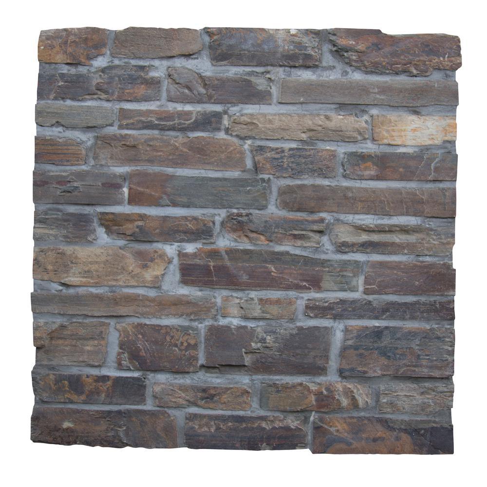 California Gold Natural Slate Wall Loose Veneer (100 sq. ft. / pallet)