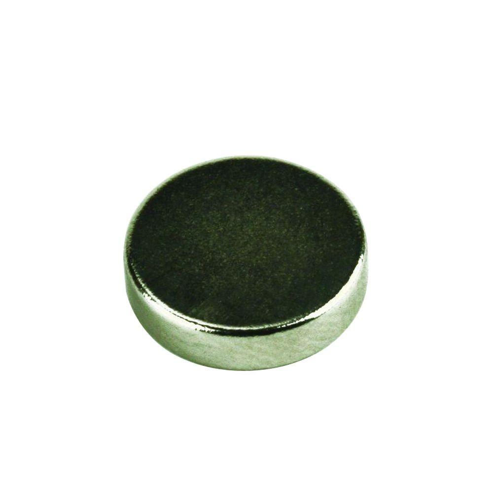 0.3 in. x 0.11 in. Neodymium Rare-Earth Magnet Discs (10 per Pack)