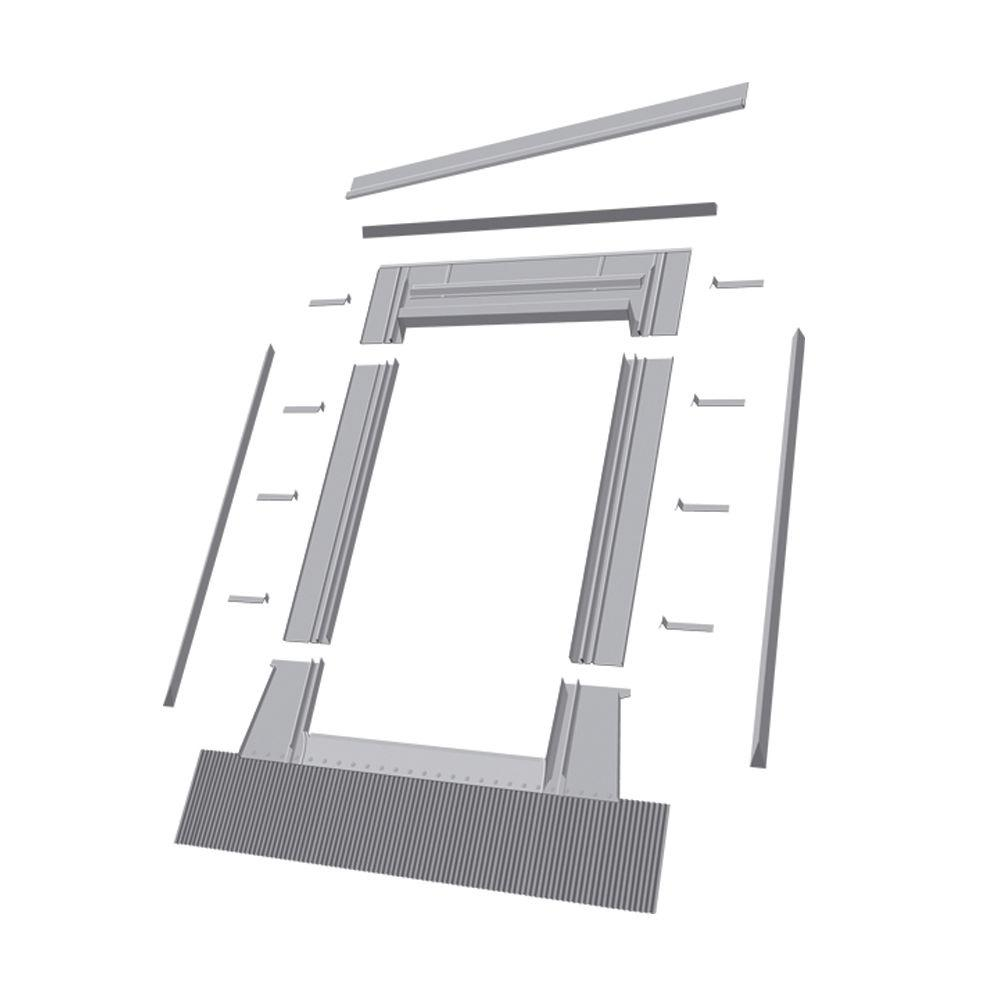 EH/A-A 24 in. x 55 in. Aluminum High Profile Flashing Kit