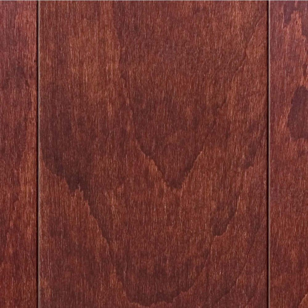 Millstead hand scraped maple spice 3 4 in thick x 5 in for Hardwood floors 1000 square feet