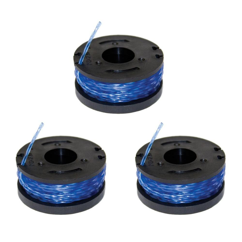 Sun Joe Replacement Spools for String Trimmer (3-Pack)