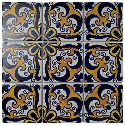 Affinity Monarch Candio 11-3/4 in. x 11-3/4 in. x 6 mm Porcelain Mosaic Tile