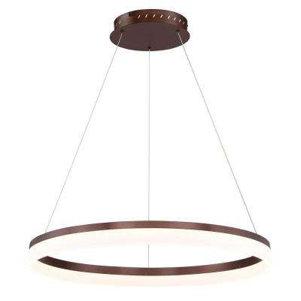 Minuta Collection 43-Watt Bronze Integrated LED Chandelier