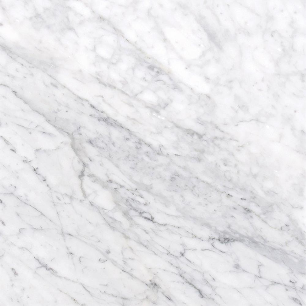 Msi Carrara White 12 In X Honed Marble Floor And Wall Tile 10 Sq Ft Case