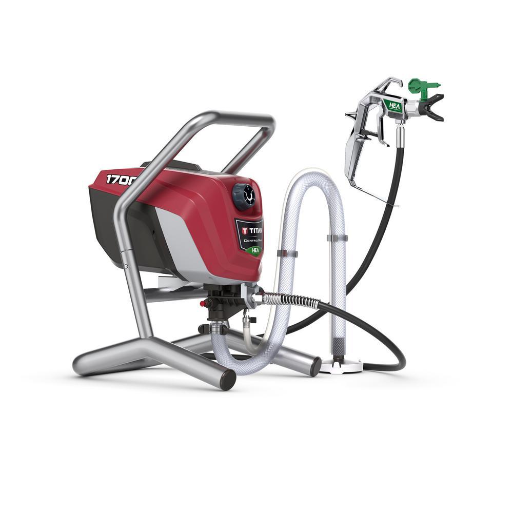 TITAN ControlMax 1700 High Efficiency Airless Sprayer-0580009 - The ...