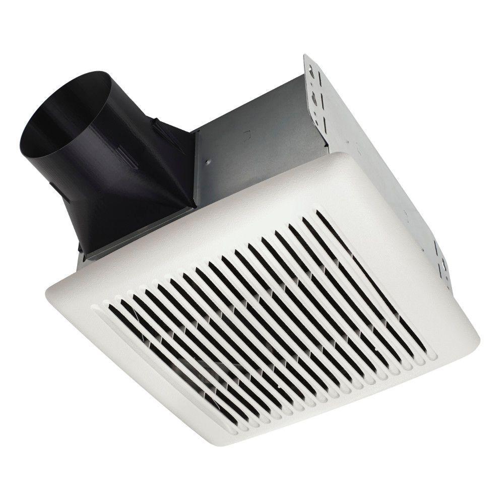 Flex Series 80 CFM Ceiling Room Side Installation Bathroom Exhaust Fan, ENERGY STAR