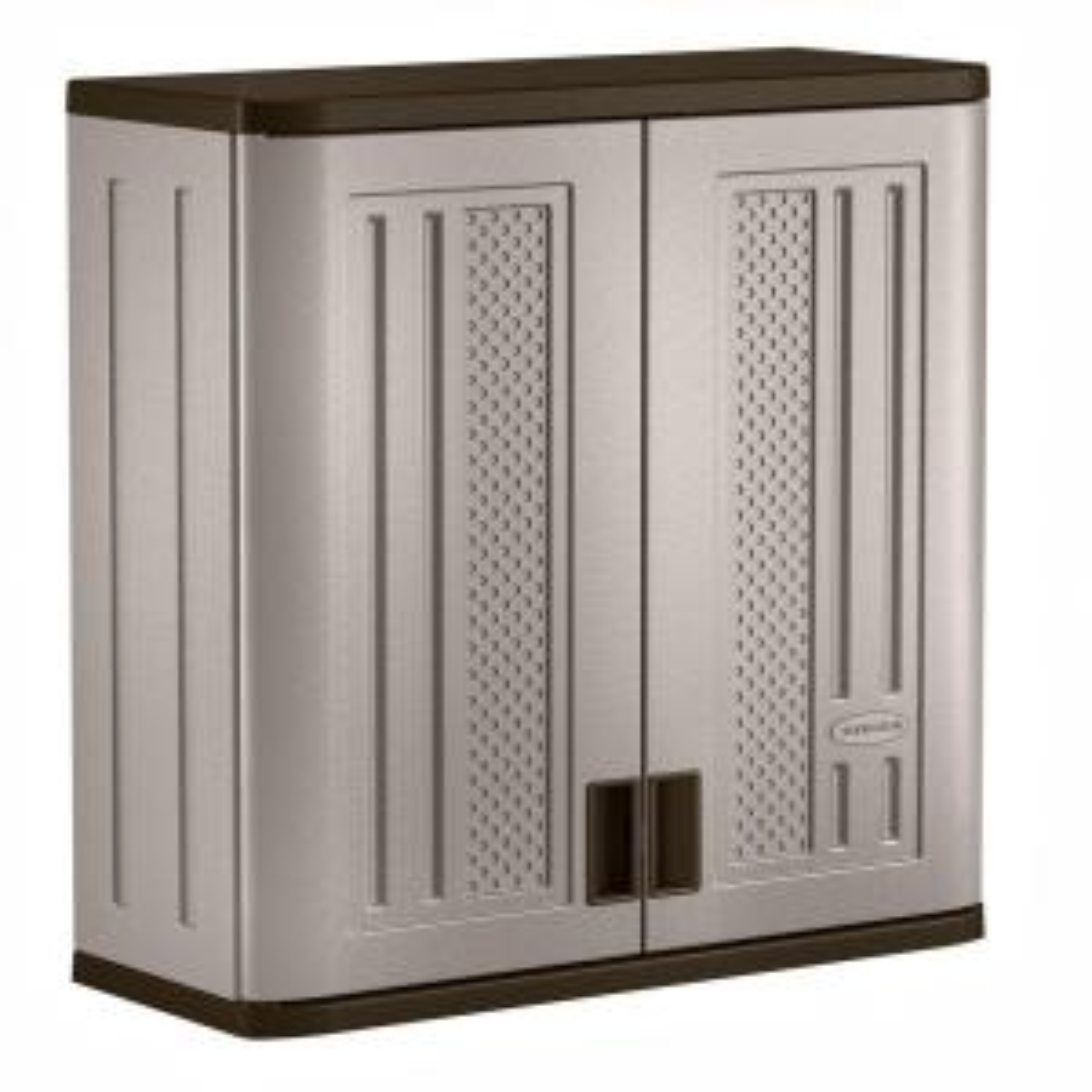 "SUNCAST COMMERCIAL BMCCPD3000 Wall Storage Cabinet,1 Shelf,30-1//4/"" H"