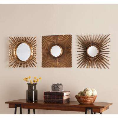 Nilam 3-Piece Decorative Mirror Set