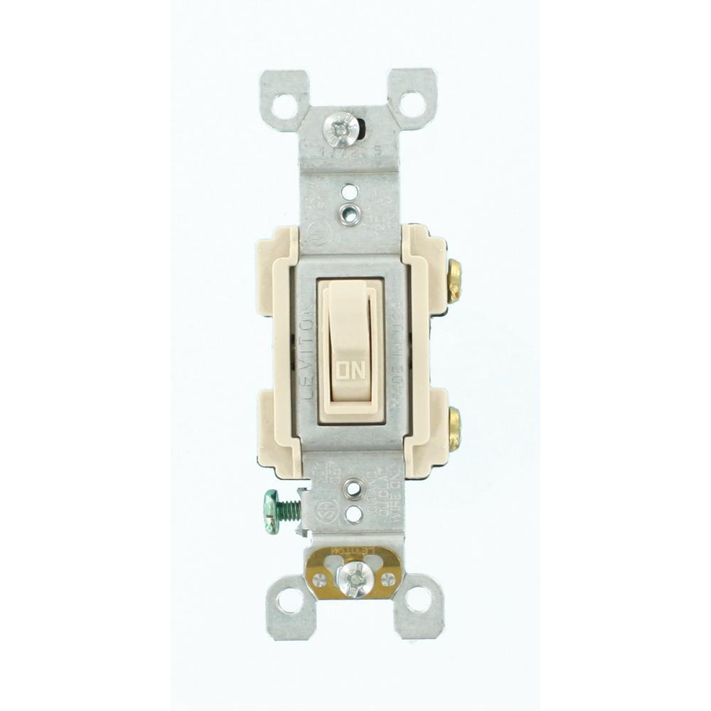 15 Amp Preferred Switch, Light Almond