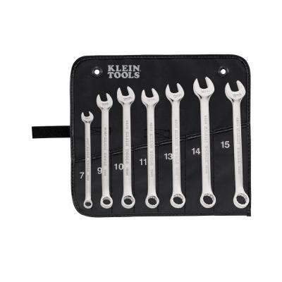 7-Piece Metric Combination Wrench Set