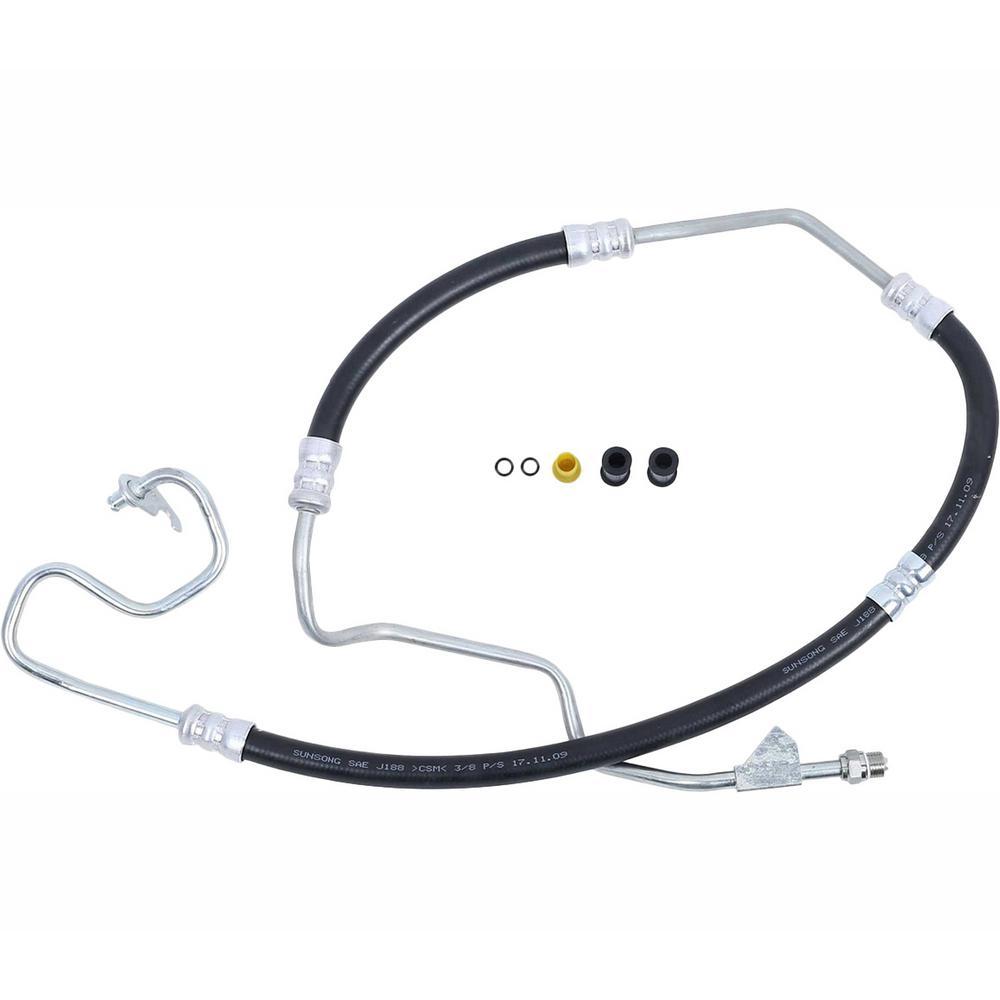 Sunsong 3401509 Power Steering Pressure Line Hose Assembly