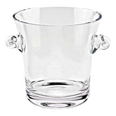 9 in. H Chelsea Mouth Blown European Wine or Champagne Cooler