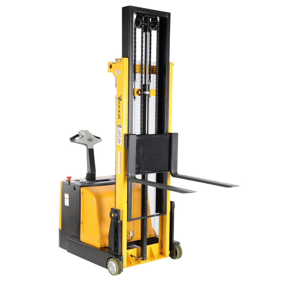 1,100 lb. Capacity 118 in. High Counter-Balanced Powered Drive Lift