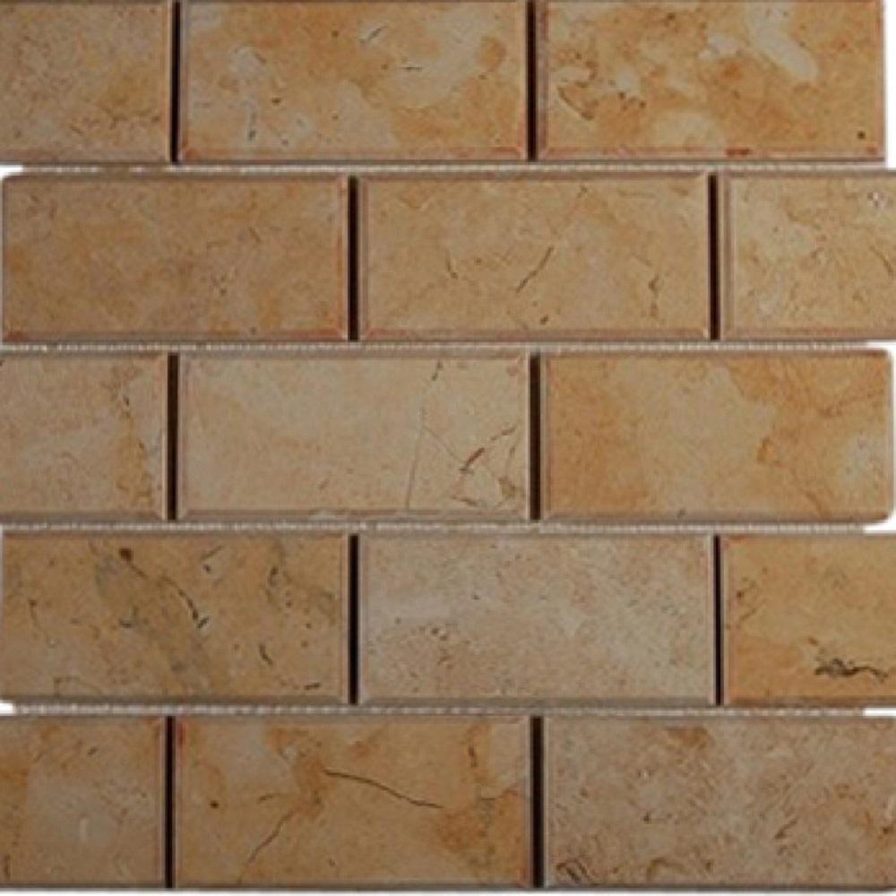- Ivy Hill Tile Jerusalem Gold Beveled 11.75 In. X 11.75 In. X 10 Mm