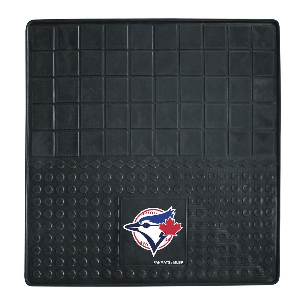 FANMATS MLB - Toronto Blue Jays Heavy Duty 31 in. x 31 in. Vinyl Cargo Mat