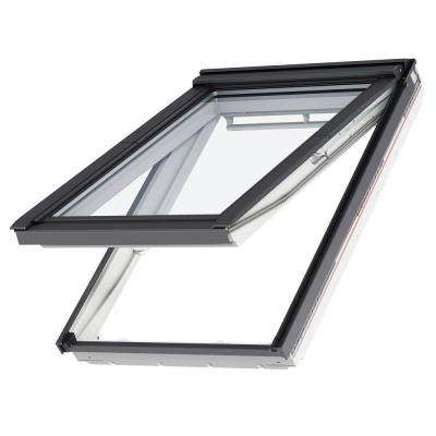 53-1/4 in. x 55-1/2 in. Egress Top Hinged Roof Window with Laminated LowE3 Glass