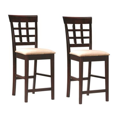 Cool Coaster Transitional Bar Stools Kitchen Dining Room Gmtry Best Dining Table And Chair Ideas Images Gmtryco