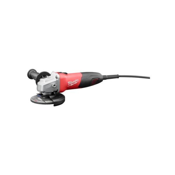 7 Amp Corded 4-1/2 in. Small Angle Grinder with Sliding Lock-On Switch