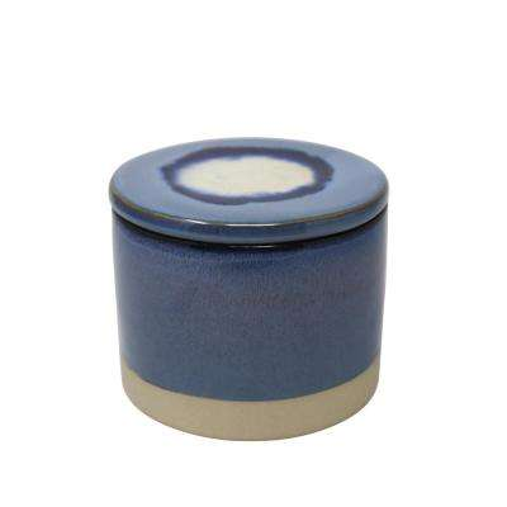 Ceramic Blue Outdoor Citronella Candle