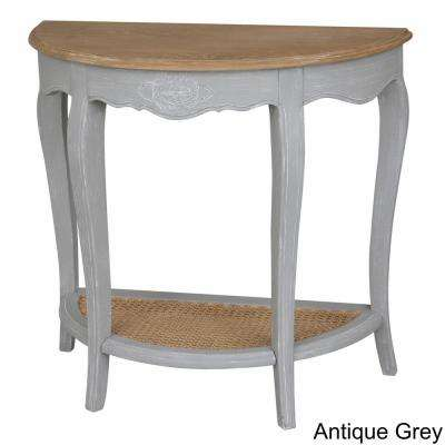 Antique White Console Tables Accent Tables The Home Depot