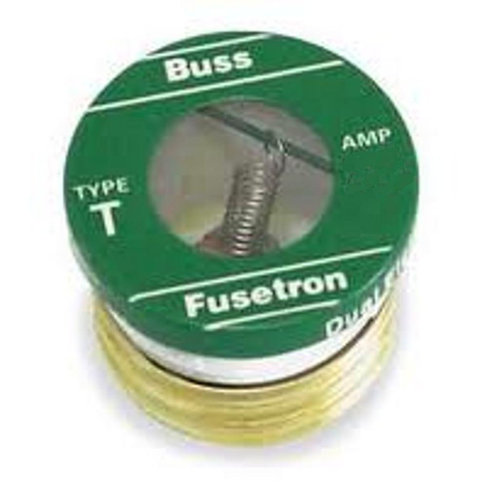 6-1/4 Amp T Style Plug Fuse (4-Pack)
