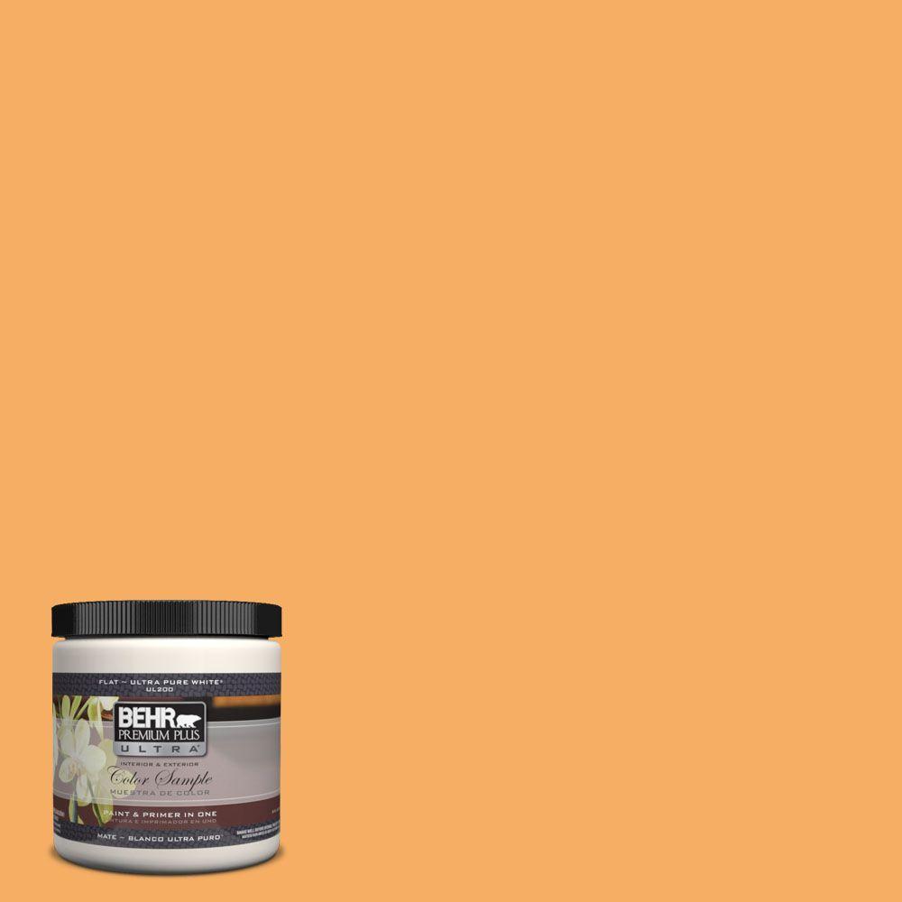 8 oz. #PPH-05 November Gold Interior/Exterior Paint Sample