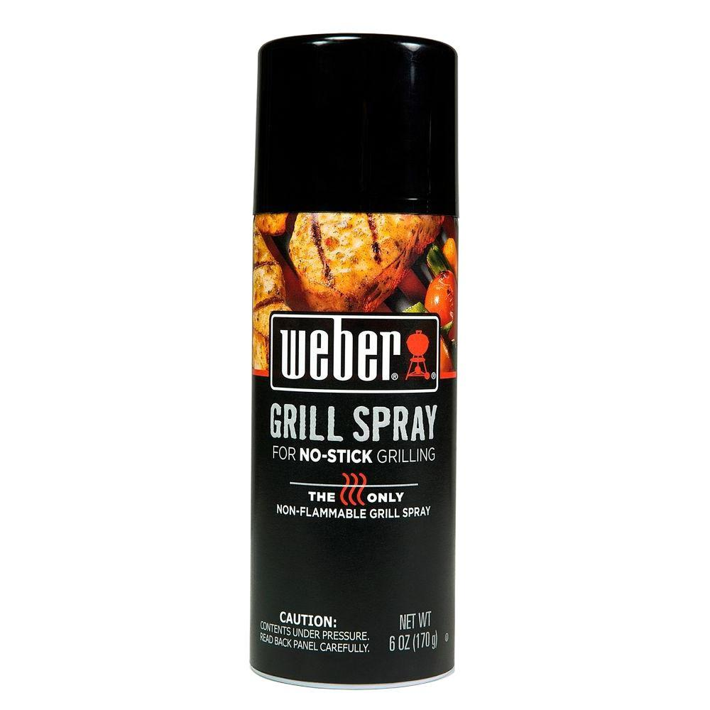 Weber Grill 'N Spray for No-Stick Grilling 6 oz.