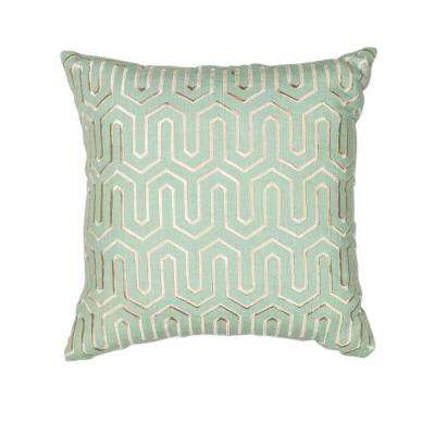 Tower Style Seafoam Decorative Pillow