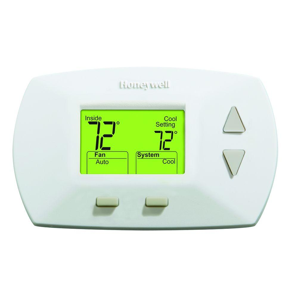 Honeywell Deluxe Digital Non-Programmable Heat/Cool Thermostat