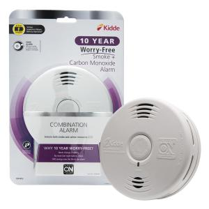 10 Year Worry-Free Sealed Battery Combination Smoke and Carbon Monoxide Detector with Voice Alarm