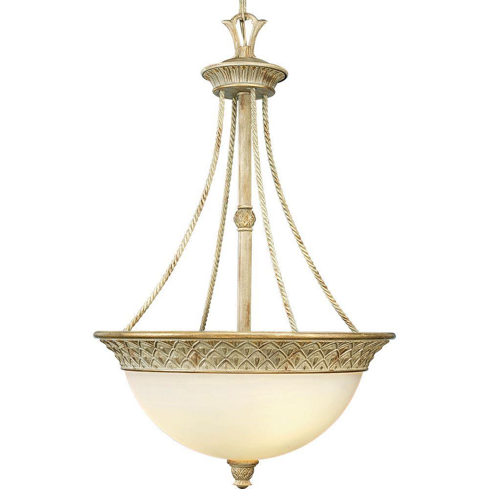 Progress Lighting Savannah Collection 3-Light Seabrook Pendant