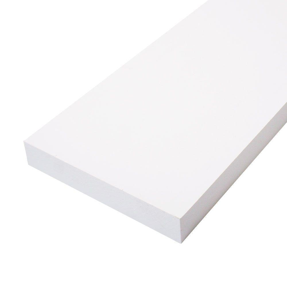 null 5/4 in. x 8 in. x 16 ft. Primed Finger-Joint Board