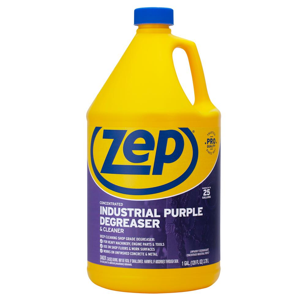 Zep 1 Gallon Industrial Purple Degreaser Zu0856128 The Home Depot
