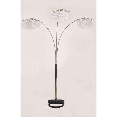 a6d7f3ecfa 3 Crystal Inspirational Arch Floor Lamp