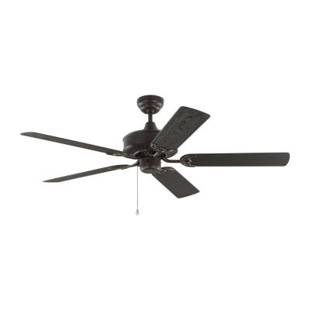 Haven 52 in. Outdoor Bronze Ceiling Fan