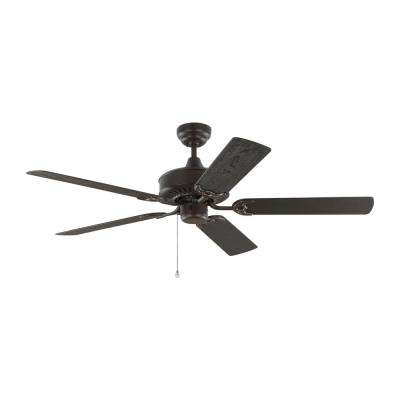 Haven 52 in. Outdoor Bronze Ceiling Fan