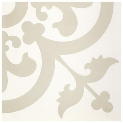 Cemento Empress Beach Encaustic 8 in. x 8 in. Cement Handmade Floor and Wall Tile (5.51 sq. ft. / Case)