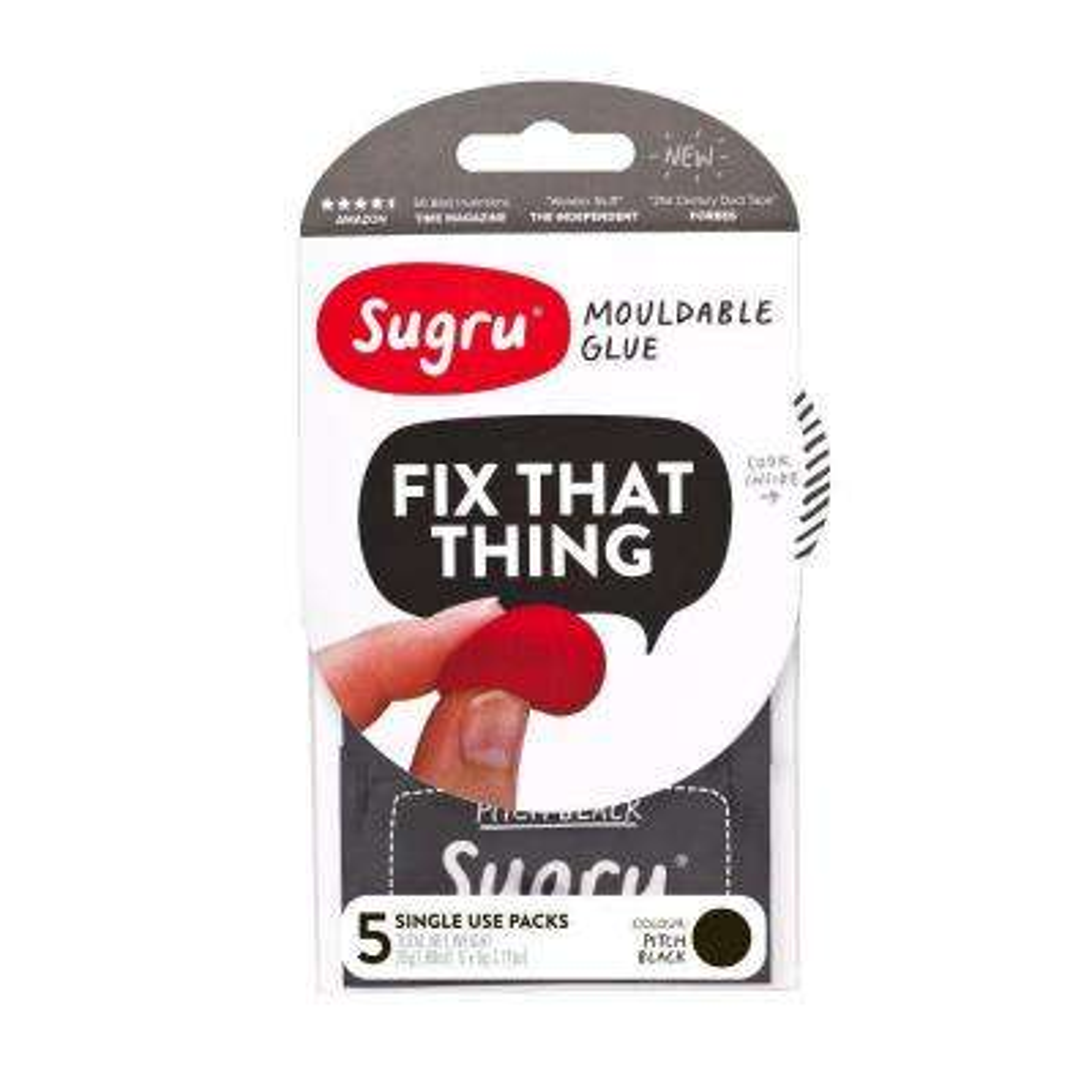 0.88 oz. Black Mouldable Glue (5-Pack)