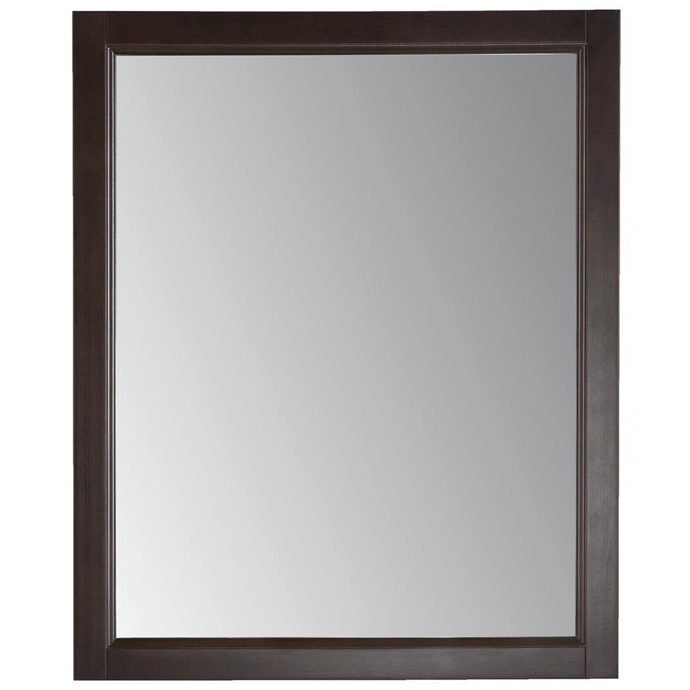 Northwood 26 in. x 31 in. Wood Framed Wall Mirror in Dusk