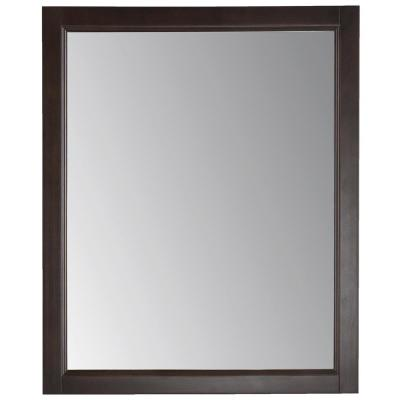 Northwood 25.67 in. x 31.38 in. Wood Framed Wall Mirror in Dusk
