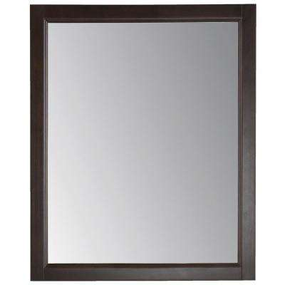 Northwood 26 in. x 31 in. Wood Framed Wall Mirror in Dusk