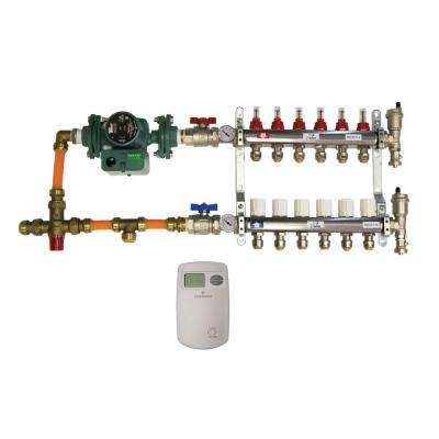 1/2 in. Radiant Heating Install Kit